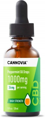 Cannovia - Full Spectrum CBD Oil Drops - Peppermint Flavour