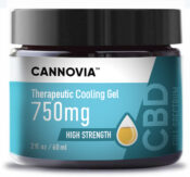 Best CBD Cooling Gel - CBD Soothing Lotion - Full Spectrum - Cannovia